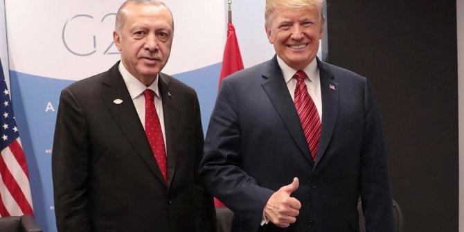 Cumhurbaşkanı ve Erdoğan Trump' 50 dakika görüştü