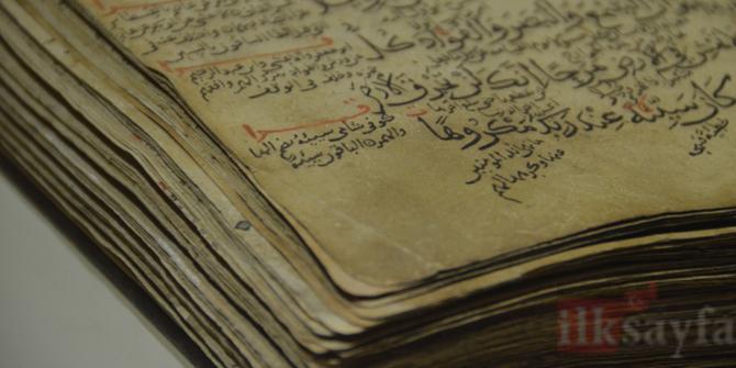 827 yıllık Kur'an-ı Kerim