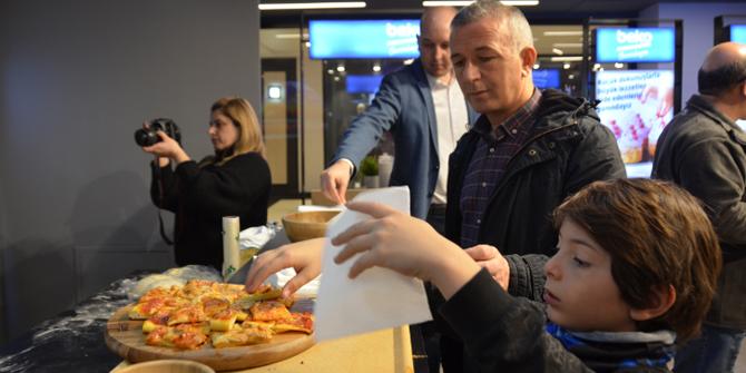 Beko'dan Ankara'da Pizza Etkinliği
