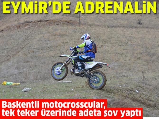 Eymir'de adrenalin