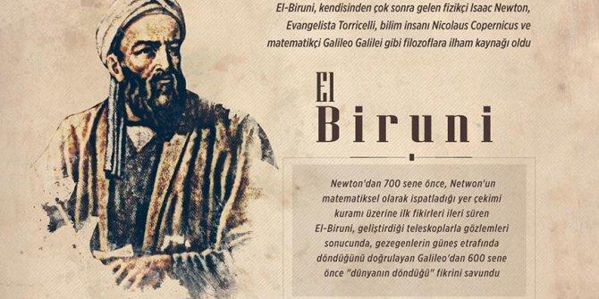 Newton, Torricelli, Galileo ve Copernicus'un ilham kaynağı: El-Biruni