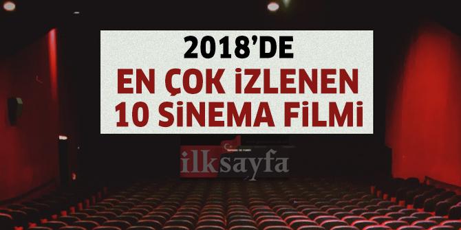 2018 Yılında En Çok İzlenen Sinema Filmleri (İlk 10)