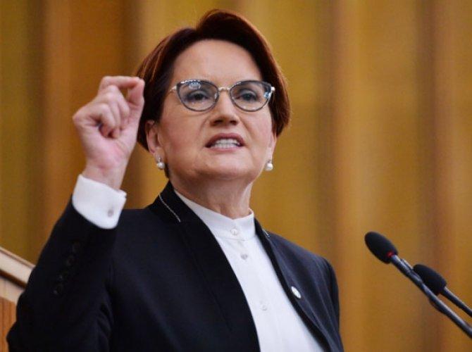 Akşener'den HDP'ye Nasrettin Hocalı cevap
