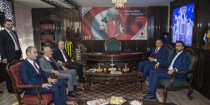 Mehmet Özhaseki: Şehirlerimizi birlik içinde yöneteceğiz