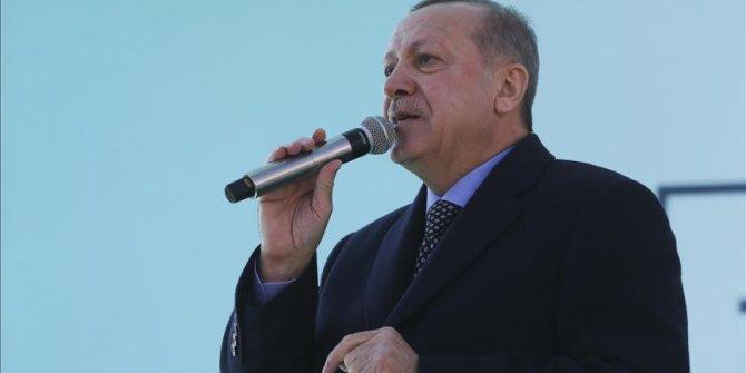 Cumhurbaşkanı Erdoğan'dan Sincan müjdeleri