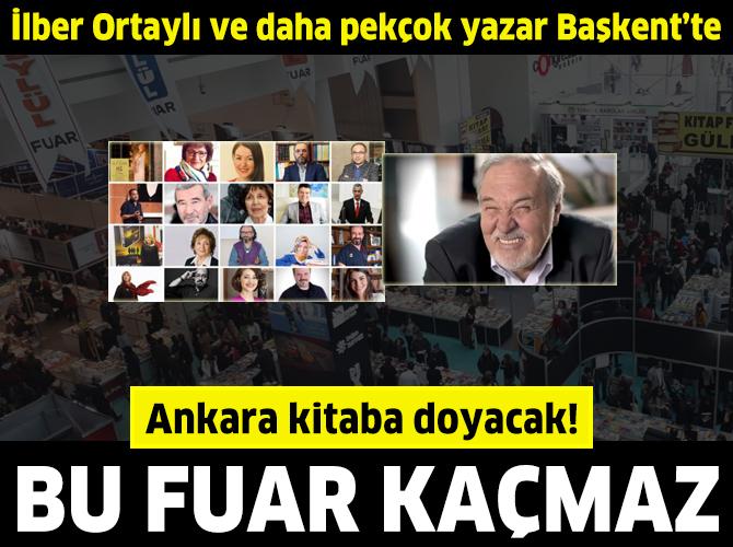 13. Ankara Kitap Fuarı başladı