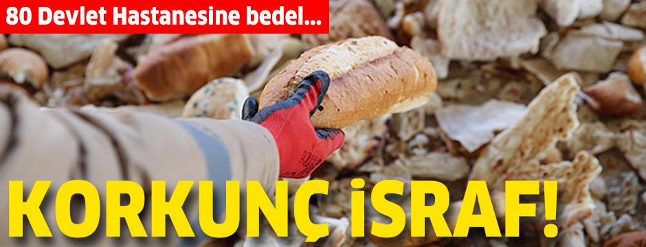 Türk Kızılayı Genel Başkanı Dr. Kınık: Her yıl 500 bin ton ekmeği çöpe atıyoruz