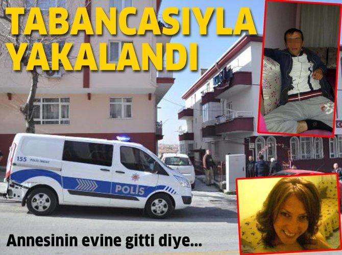 Ankara'da eşini öldüren adam saklandığı evde yakalandı