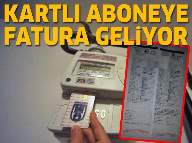 Ankara'da kartlı doğalgaz sayacıkullanana fatura geliyor