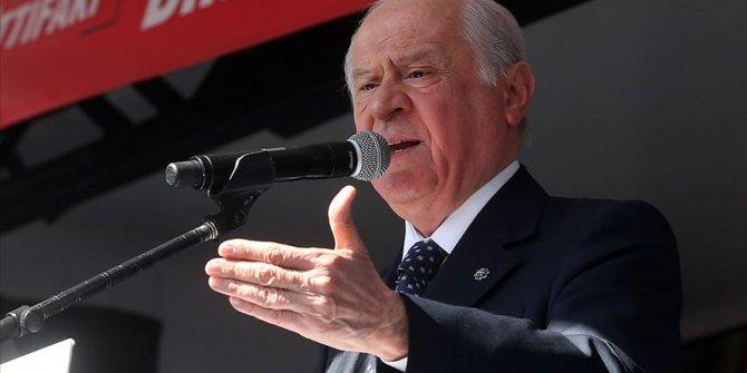 MHP Genel Başkanı Bahçeli: Kriz arayanlar zillette yuvalandı