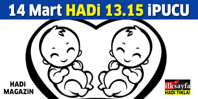 14 Mart HADİ MAGAZİN ipucu: Mustafa Uslu ve Sinem Öztürk'ün bebeklerinin ismi nedir? 13.15 ipucu sorusu cevabı