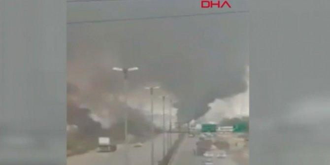 İran'da patlama oldu! Çok sayıda ölü var