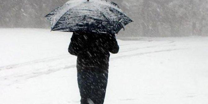 Eğitime kar engeli bazı okullar tatil