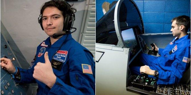 ABD'deki uzay kampına iki Türk öğrenci konuk oldu