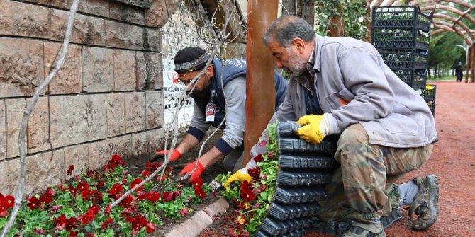 Atatürk Botanik Parkı bahara hazır