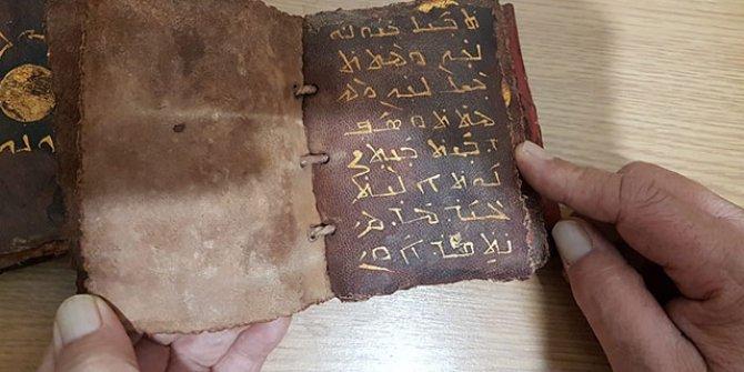 Adana'da ele geçirildi: Ceylan derisi üzerine altın