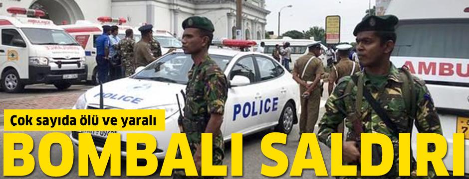 Sri Lanka'da peş peşe saldırılar: Çok sayıda ölü ve yaralı