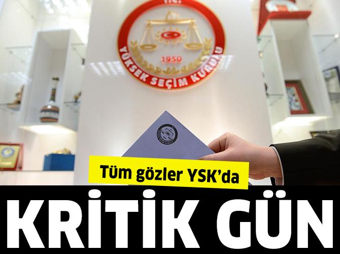 YSK'da kritik İstanbul görüşmesi bugün