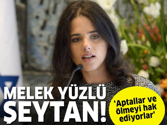 Siyonist Bakan Shaked'den skandal sözler