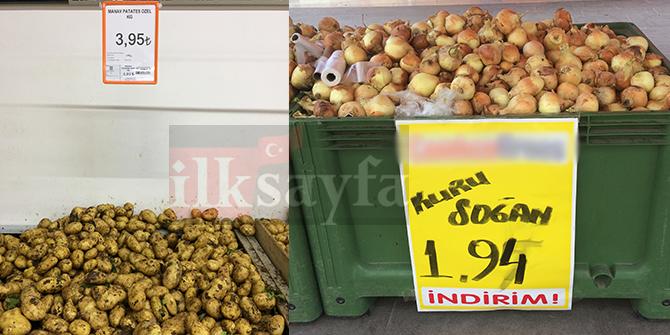Patates ve soğanda ramazan bereketi