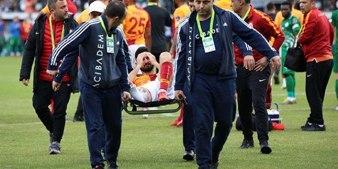 Galatasaray: Emre Akbaba başarılı bir operasyon geçirdi