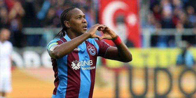 Trabzonspor'un Beşiktaş maçındaki güvencesi Rodallega