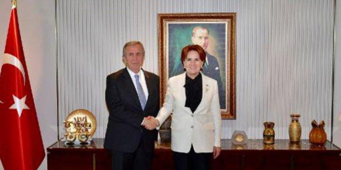 Mansur Yavaş'tan Akşener'e ziyaret