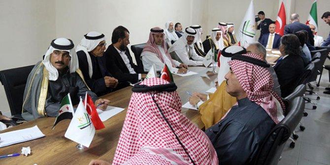Suriyeli aşiret liderleri Şanlıurfa'da şube açtı