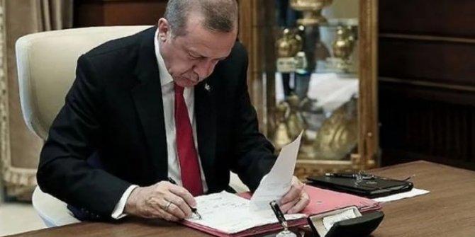 Cumhurbaşkanı Erdoğan'dan 3 önemli atama