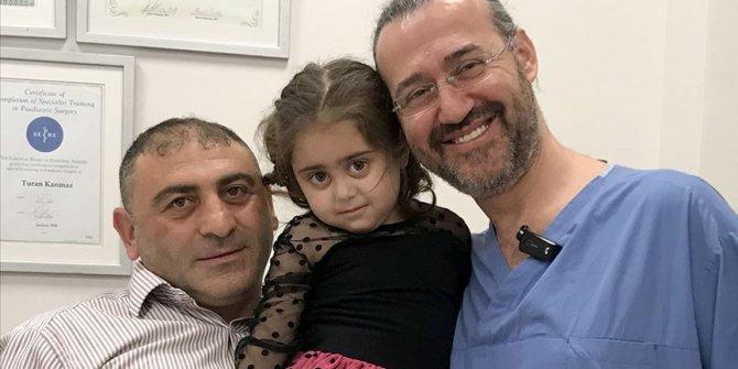 Babasının karaciğeri 5 yaşındaki Ebrar'a can oldu