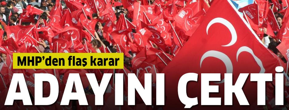 MHP yeniden seçim yapılacak Yusufeli'nde aday çıkarmıyor