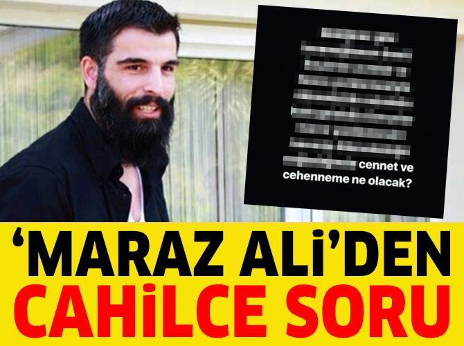 Mehmet Ali Alakurt'tan garip cennet cehennem sorusu