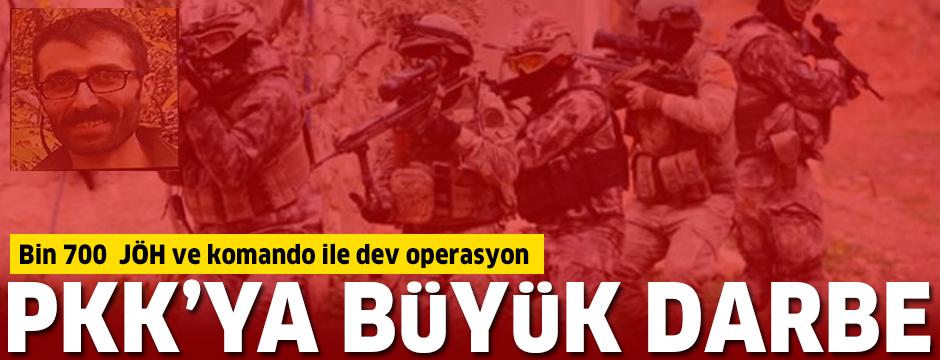 Bin 700  JÖH ve komando ile dev operasyon