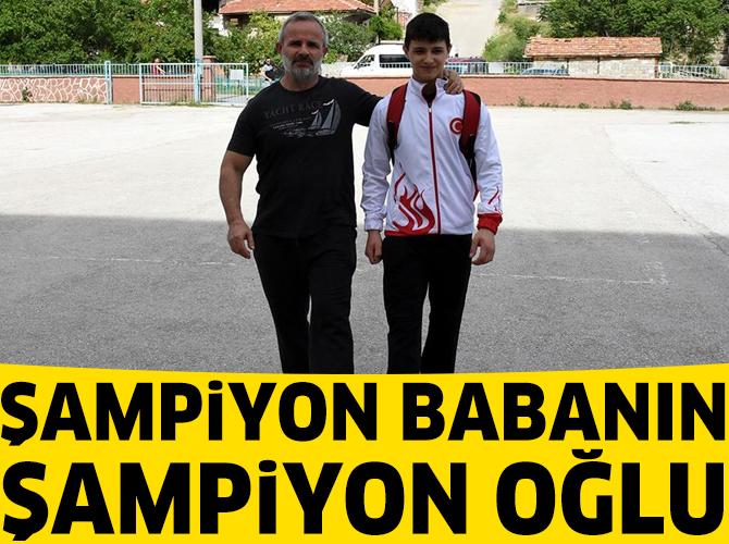 Şampiyon babanın şampiyon oğlu