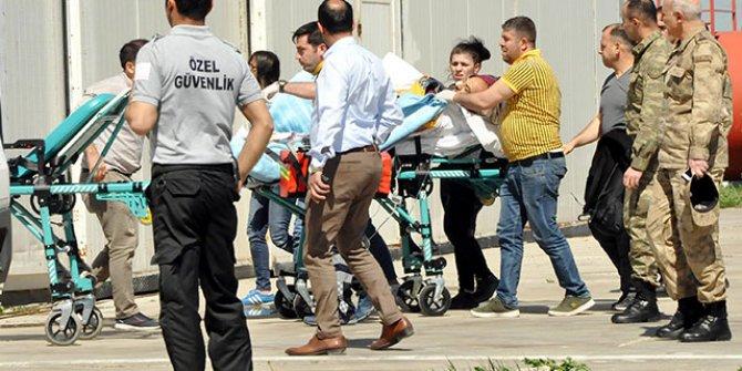 EYP infilak etti:Yaralı asker var