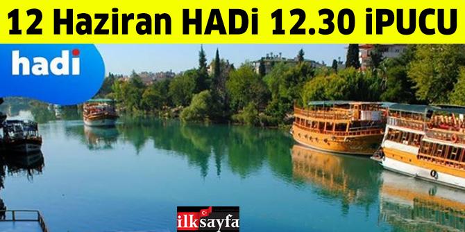 12 Haziran 12.30 HADİ ipucu: Titreyen Göl nerede Antalya'nın hangi ilçesinde? Titreyen Göl Yol Tarifi...