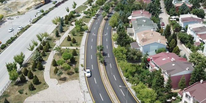 Etimesgut'ta asfalt çalışmaları tamamlandı