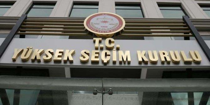 YSK'dan AK Parti'nin itirazına ret