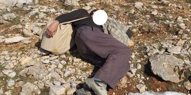 Keklik avcısı yakalanınca uyuyor numarası yaptı