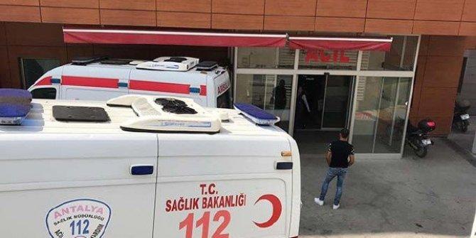Antalya'da özel bir hastanede patlama