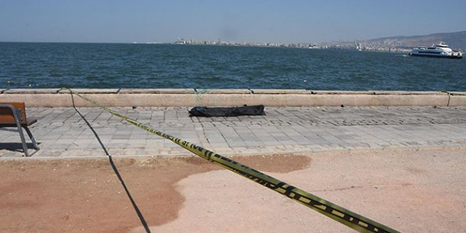 İzmir'de, denizden ceset çıktı