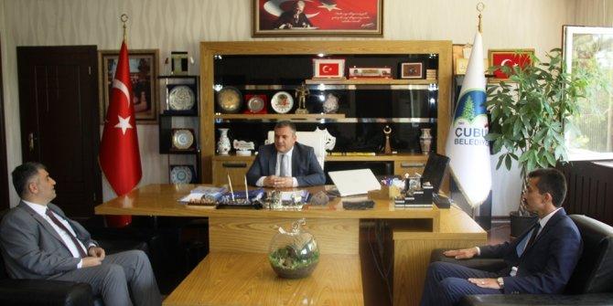 Ankara İl Sağlık Müdürü Mehmet Gülüm Başkan Demirbaş'ı ziyaret etti