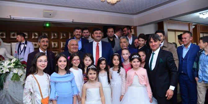 Kahramankazan'da son 6 ayda 151 çift evlendi
