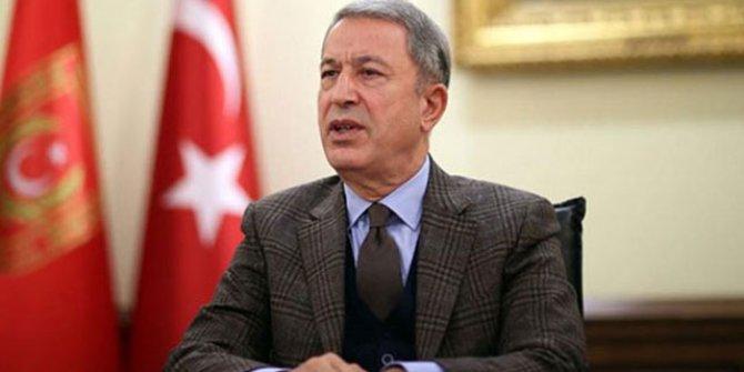 Bakan Akar'dan Doğu Akdeniz mesajı: Hazırız