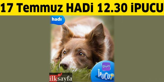 Sokak köpeklerinin günlük mama ihtiyacını karşılayan mobil uygulamanın adı nedir? 17 Temmuz 12:30 HADİ ipucu