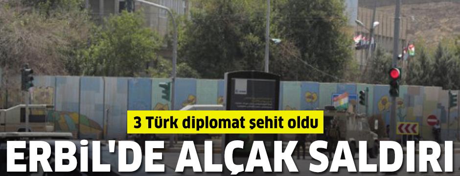 Erbil'de Türk diplomatlara saldırı: Şehi