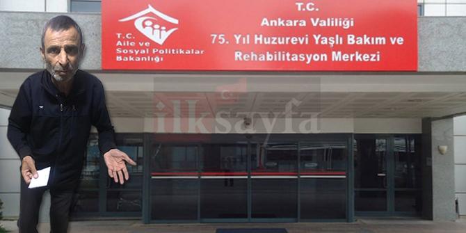 Mamak Akdere'de sokakta kalan Kenan Aygören 'huzur' arıyor