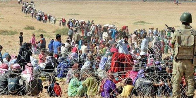 44 bin sivil daha Türkiye sınırı yakınlarına göç etti