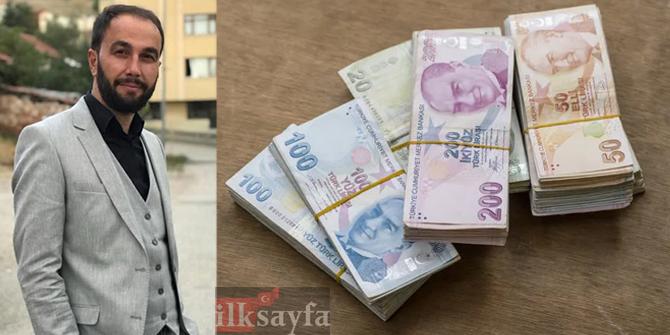 Hesabına yanlışlıkla 17 bin lira yatırılan vatandaştan örnek davranış!