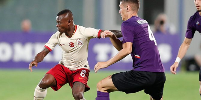 Galatasaray hazırlık maçında Fiorentina'ya 4-1 mağlup oldu